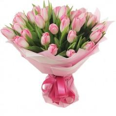 Букет тюльпанов Воздушный