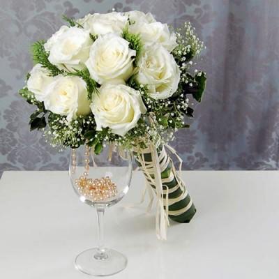 Букет невесты Альянс (9 роз)