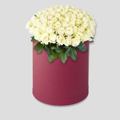 Шляпная венделла (55 роз)