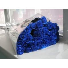 Букет Синий (25 роз)